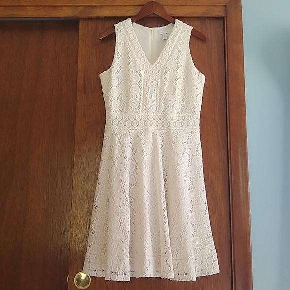 06532127b0e95 Charter Club Dresses | Lace Fit Flare Dress By | Poshmark